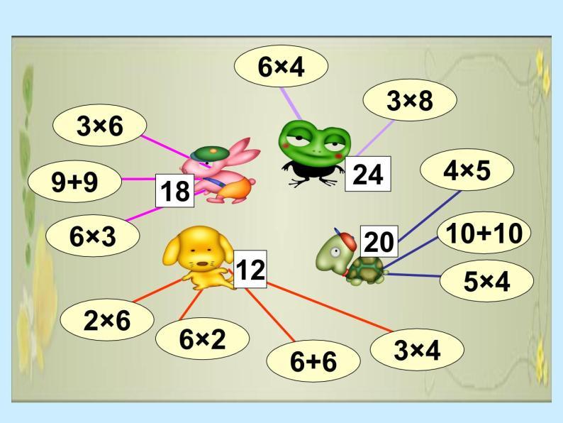 北师大小学数学二上《5.5小熊请客》课件09
