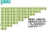 蘇教版一年級下冊數學課件1.20以內的退位減法7復習(共17張PPT)