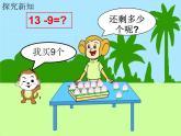 一年級數學下冊課件1.20以內的退位減法1.十幾減9蘇教版 (共12張PPT)