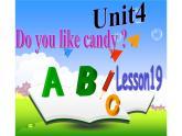 三年級下冊英語課件-Unit 4 Do you like candy?Lesson 19 人教精通版