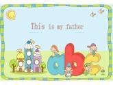 三年級下冊英語課件-Unit3  This is my father. 人教精通版