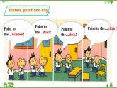 外研版小学英语三年级上册 Module3 Unit2 Point to the desk(课件+教案+同步练习)