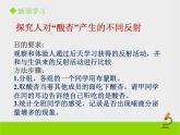 北京版生物七年級下冊《神經調節的基本方式》課件PPT第二課時