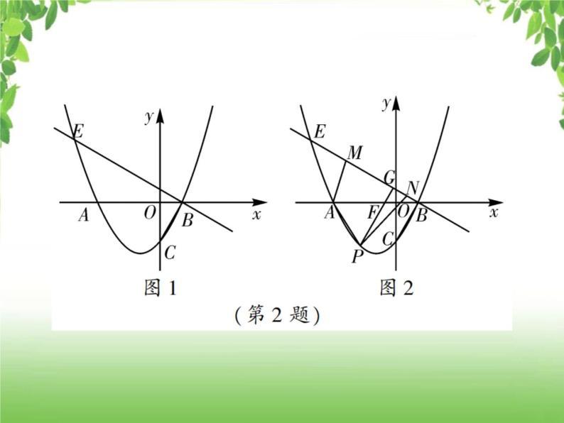 中考数学强化训练:二次函数与几何综合题(二)09
