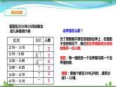 【精品】浙教版七年級下冊數學 6.4頻數與頻率 課件(24張PPT)+學案