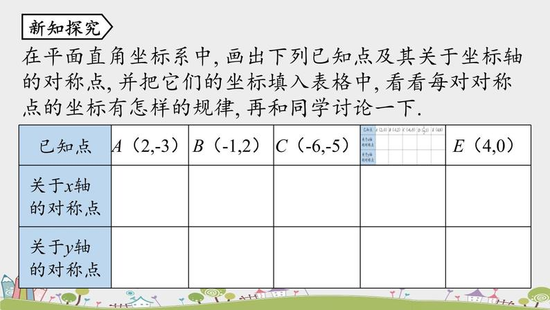 人教版數學八年級上冊 13.2《畫軸對稱圖形》第2課時 PPT課件06