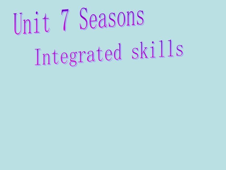 牛津译林英语八年级上册 unit7 Integrated skills 课件01