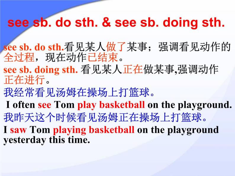 仁爱版八年级英语上册 Unit 1 Topic 1 I'm going to play basketball.   Section A  课件06