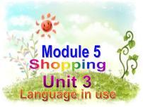 外研版 (新標準)七年級下冊Unit 3 Language in use教課ppt課件