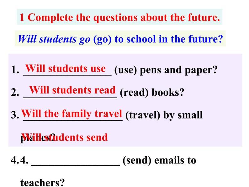 外研七年級下冊第四模塊第三節 Language in use精品課件05