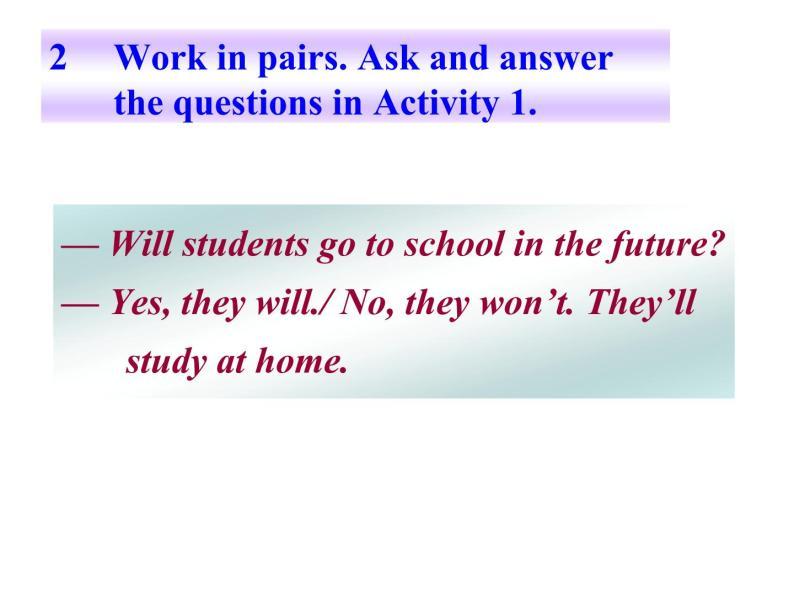 外研七年級下冊第四模塊第三節 Language in use精品課件06