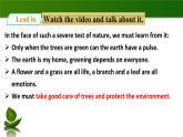 2020年牛津版七年級下冊英語Unit 4 Save the trees Period 5 more practice & culture corner(課件+教案+同步練習)