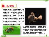 6.1《動物的生殖與發育(第1課時)》PPT課件+教案+練習+視頻 華師大版七年級科學下冊