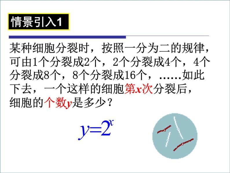 高一数学人教A版必修1课件:2.1.2 指数函数及其性质(1)02