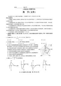 安徽省皖江名校2021屆高三下學期最后一卷(5月)數學(文)試題+答案(掃描版)