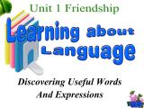 人教版高中英语必修一-Unit-1-Friendship-period-5-Learning-about-language(共33张PPT)