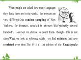 牛津譯林版英語高一下冊必修3 Unit 2 Language PPT課件+教案+練習