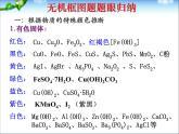 高三化學無機框圖題的推斷總復習課件2